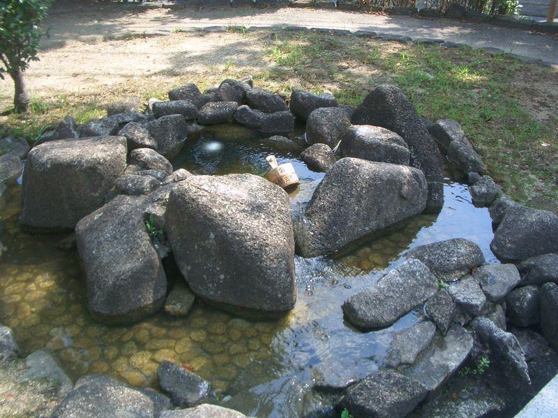義元公首洗いの泉