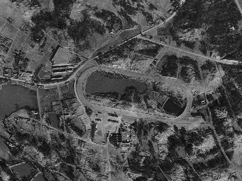 岡崎競馬場(米国陸軍空中写真/1948年撮影)