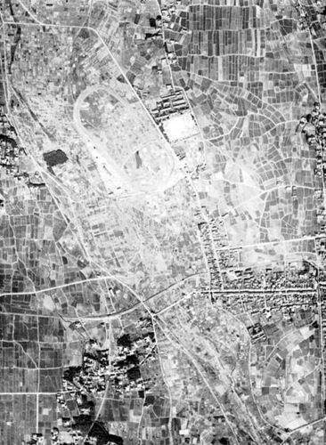 北方競馬場(米国陸軍空中写真)