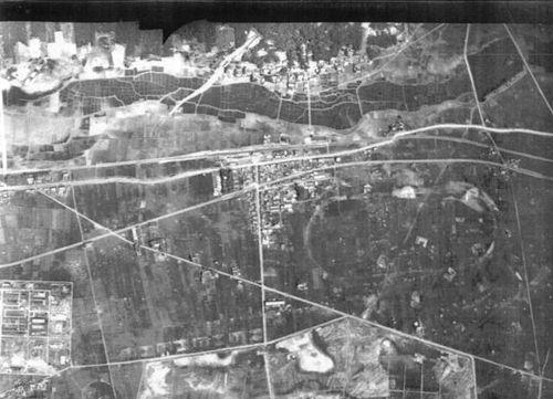 各務原競馬場(米国陸軍空中写真)