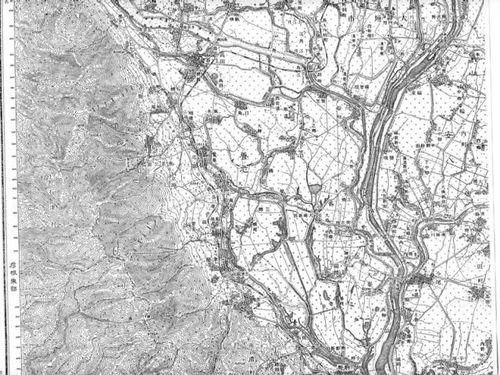 養老競馬場(原寸大地図)