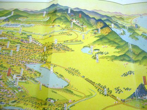 豊橋競馬場(昭和5年の文献)は珍しい鳥瞰図