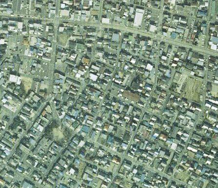 豊橋競馬場の現在(ヤフーから航空写真)
