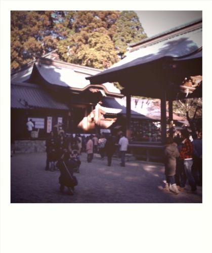 猿投神社をInstantにて=CameraBag