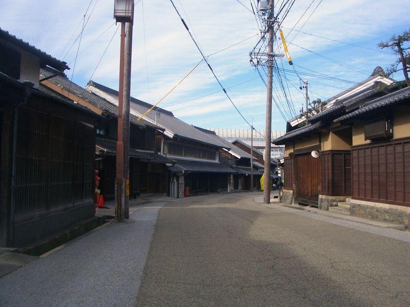東海道五十三次 有松の街道をゆく